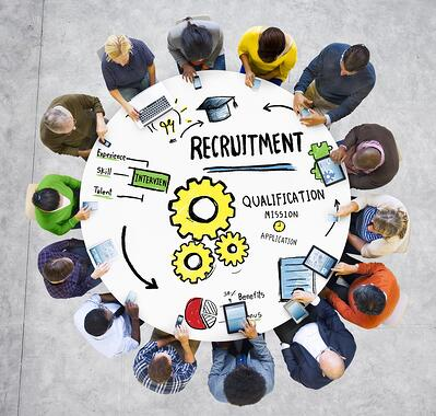 Inbound recruiting utilizes your current marketing efforts to reruit top talent.