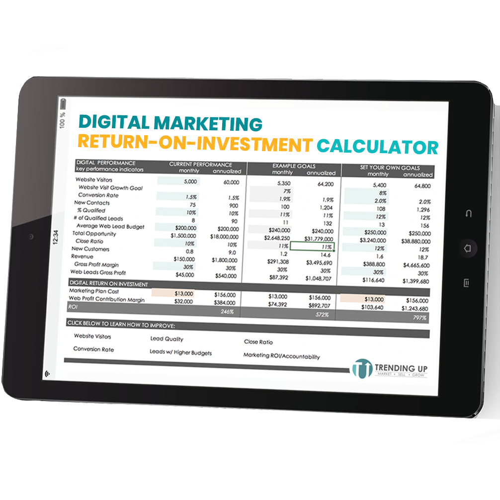 Digital Marketing ROI calc - Resource Image
