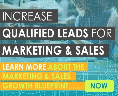 Increased qualified leads for marketing and sales. Learn more about the Marketing and Sales Blueprint. Click here.