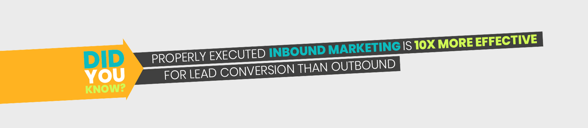 properly executed inbound marketing is 10x more effective for lead conversion than outbound v4