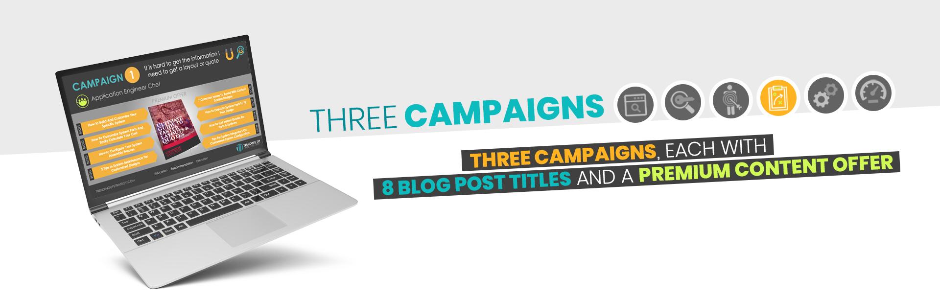 Campaign - 3 Campaigns