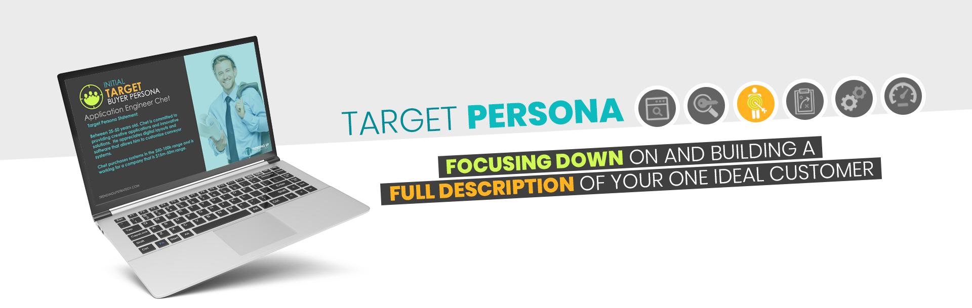 Target Persona - Focus Down