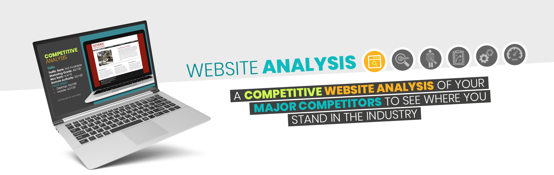 Website Analysis - Competitive Analysis