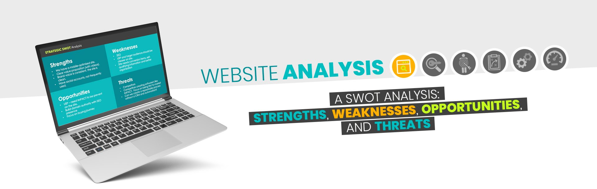Website Analysis - SWOT